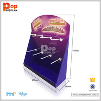 Direct Factory Price Watch Or Mobile Phones Accessories Cardboard Counter Display Stand