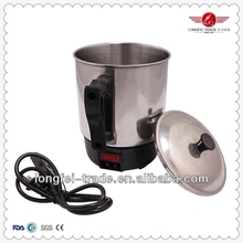 500ml mini stainless steel electric travel kettle/electric tea kettle tray set