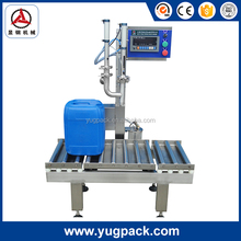YGF-BW/20 Factory SS 316L Transformer oil semi-auto weighing filling machine