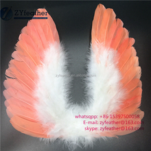 Manufacturer Handmade christmas decoration angel feather wing 12inch long