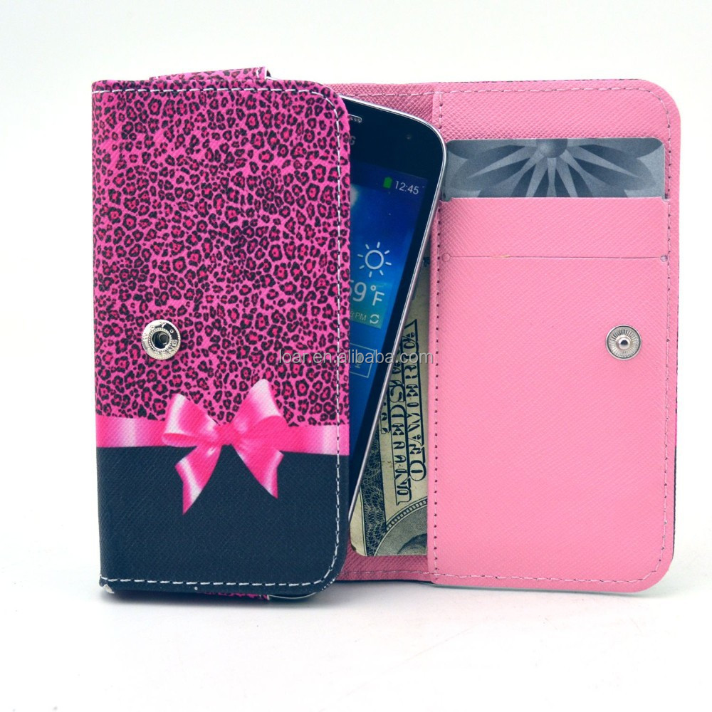 Hot Pink Leopard Universal Case for Mobile Phone