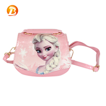 Fashion Cute Girls School Students Pu Material Shoulder Bag For Children