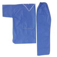 Non-woven medical 2 piece suit
