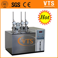 Heating deflection and vicat softening temperature measuring apparatus + ring and ball softening point apparatus