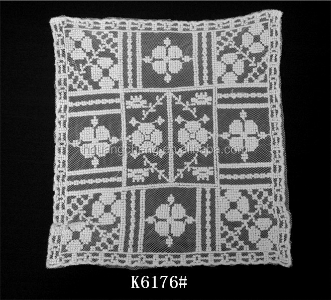 K6176 Cotton Mesh Crochet Lace Curtain Patterns