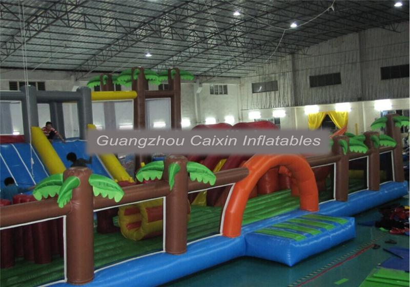 giant inflatable jumpimg castle advertising