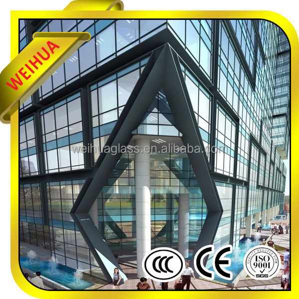 good quality interior glass wall decorative paneling for buildings with CE/CCC/SGS/ISO