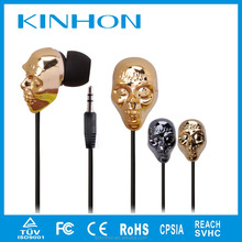 cheap music player mp3 mp4 skull earphones