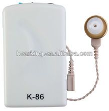 K-86 Body worn portable hearing aids CE&RoHS approval