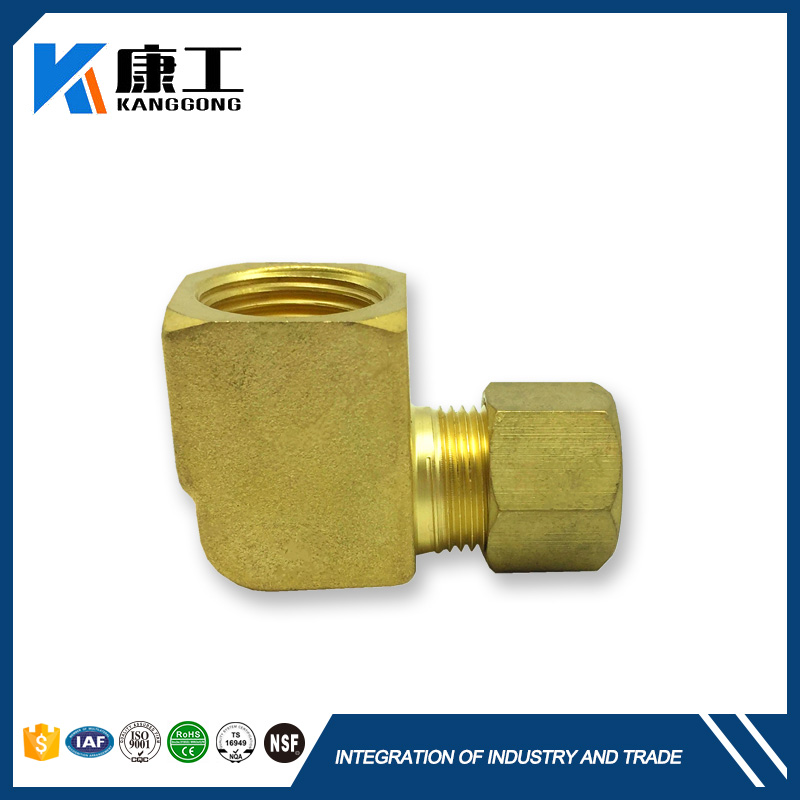 Energy Saving Pioneer Stop Leak Copper Pipe Compression Fitting