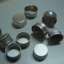 Glass bottle caps aluminum screw cap for sale paypal accept