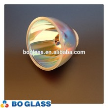 glass reflector with coated for lighting from factory