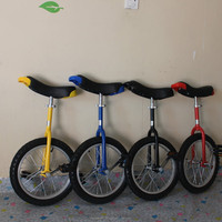 "Children bicycle 24"" single wheel unicycle for kids & adult Black color Height adjustable Alloy rim CE/ASTM F963-11 Approved"