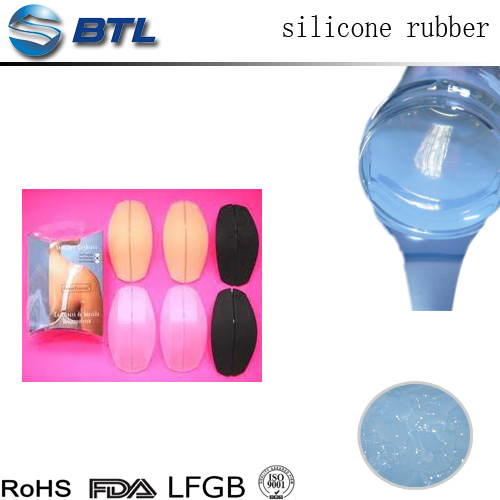 Soft mattress silicone rubber make silicone rubber gel insoles for toes