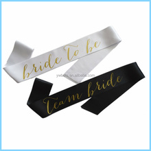 Bridal Shower Supplies Bachelorette Party Bride To Be Sash