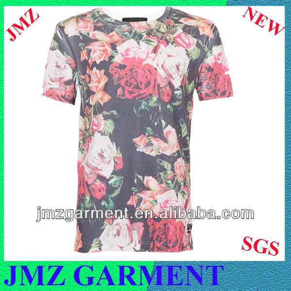 apparel manufacturing t-shirt dgt printing tee custom 100% polyester fabric