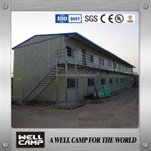 Dubai project galvanized steel modular homes for labour camp