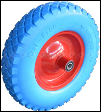 solid pu foam wheel, wheel barrow tire