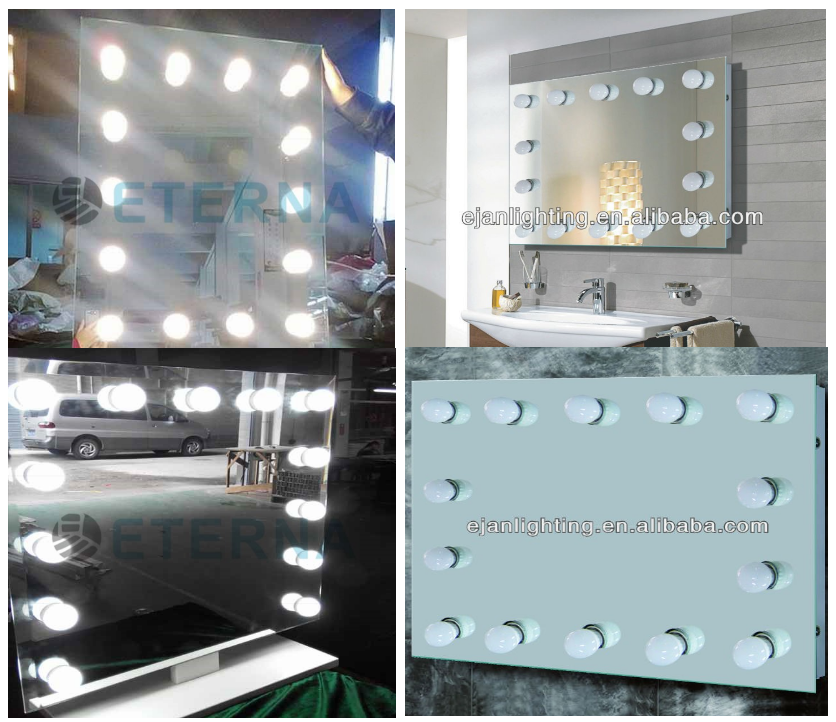 Eterna Led Bathroom Illumniated Vanity Mirror Hollywood Lighted Mirror - Buy Hollywood Lighted ...