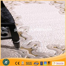 Good quality Turkish style hand tufted plain acrylic carpet for bedroom decorating