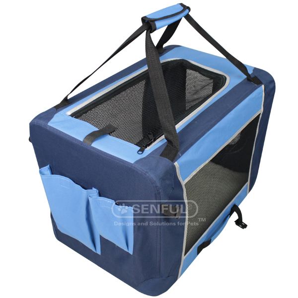 Folding Fabric Dog Crate Dog Crate
