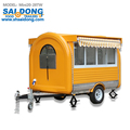 BEST PRICE mobile food trailer/street hot dog cart/mobile coffee cart for sale
