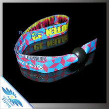 *Eco-Friendly* Great Custom Cloth Wristbands Bracelet with Lock