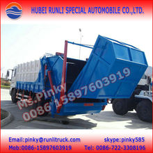 Dongfeng Rubbish Compaction Truck 10m3 12m3 14m3 Garbage Compactor Truck For Sales
