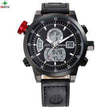 NORTH 3ATM Water Resistant LED Set Digital Analog Wrist Watch
