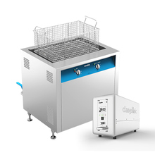 Industrial ultrasonic stainless steel water bath for online sale fuel nozzle ultrasonic cleaner for motor cleaning