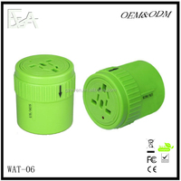 2015 Good quality top selling 5V2A travel world adapter with UL ,CUL ,SAA ,CE,FCC,ROHS