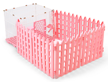 Puppy Cage with Fences