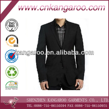 Men's 100% wool elegant business suit