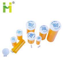 HOT Selling 6DR to 60DR plastic child resistant vials