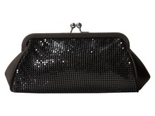 Lady Evening Clutch Bags With Kiss Lock Closure
