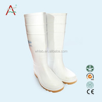 insole textile fabric upper PVC and antistatic safety shoes incleanroom with long sleeve