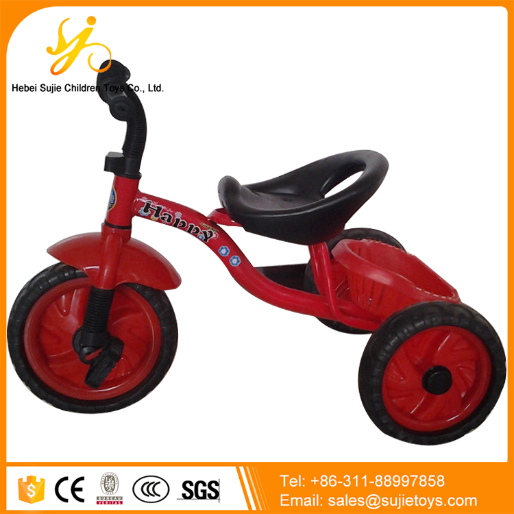Children Tricycle 3 Wheel Pedal Car for Sale / Plastic Baby Tricycle / Plastic Pedal Cars for Kids