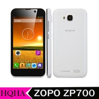 "4.7"" QHD 960*540 ZOPO ZP700 cuppy mtk6582 quad core 1.3GHz 1GB RAM 4GB ROM dual cams GPS 3G WCDMA android phones"