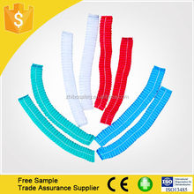 Free Sample Disposable PP Surgeon Stripe Hair Cap For Surgical