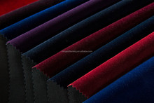 super soft polester nylon plain flocking multi color