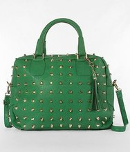 2012 fashion studded Doctor's bag