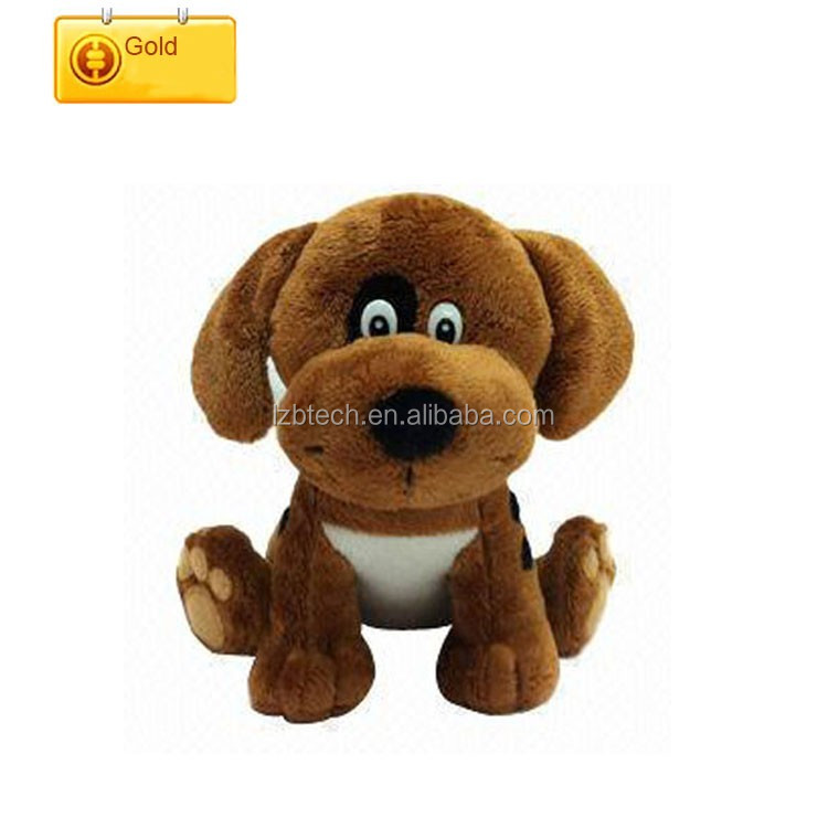 Custom plush terrier stuffed dog Soft Hot Sale OEM female dog names plush puppy