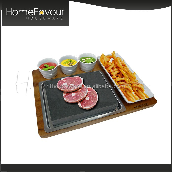 SGS Compliance 3pcs Bowl Ceramic Plate Steak Set