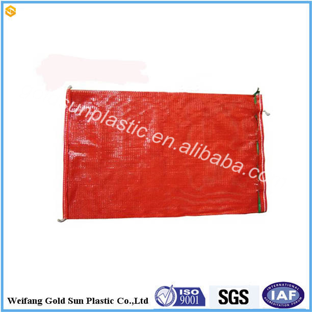 Wholesale the mesh bag for garlic the bag nets for potato pp net bag