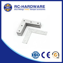 2018 New Products L Type Flat Metal Corner Braces Angle Brackets Plate Connector