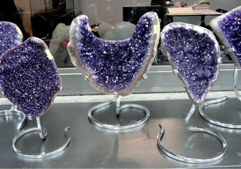 Decorative Amethysts