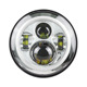 Atubeix Chrome Halo Eye 7 Inch led Headlight for Jeep Wrangler