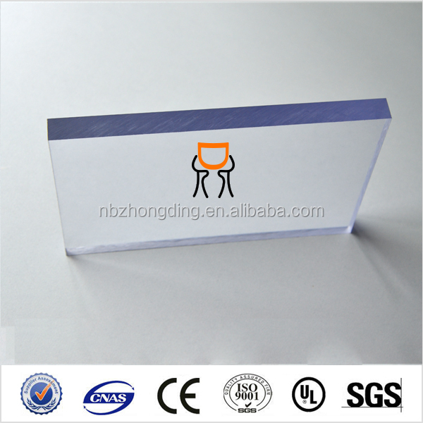 transparent lexan 10mm 12mm 14mm 16mm solid PC sheet for sell