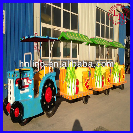 Cartoon Design Fiberglass Body Electric Tourist Car