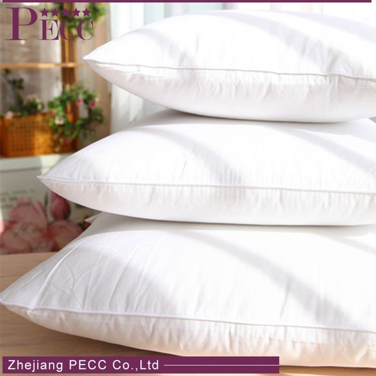 P-WDD70-500g-C280 Costomize Size Accepted Oem New Fashion Hotel Life Duck Down Bed Pillow